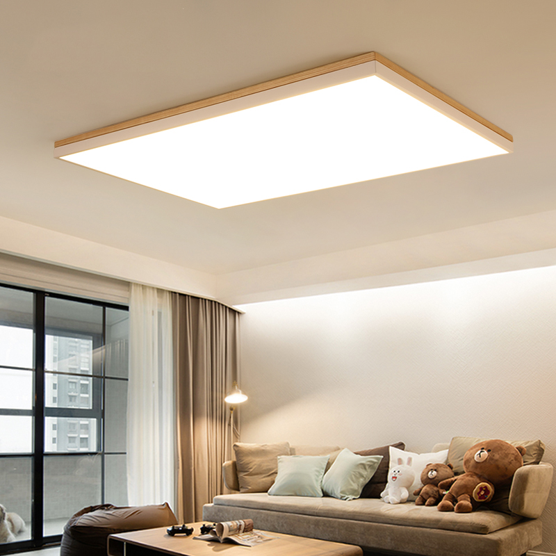 Wooden Study Room: Aliexpress.com : Buy Nordic LED Ceiling Lights Living Room