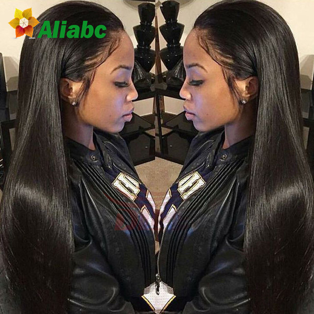 Peruvian Straight Hair With Closure Ear To Ear Lace Frontal Closure With Bundles Sunlight Yvonne Virgo Aliabc Hair Company