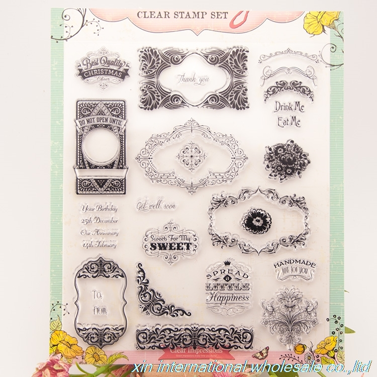 embossing folders scrapbooking ACRYLIC VINTAGE clear stamps FOR PHOTO SCRAPBOOKING stamp clear stamps for scrapbooking 70 bird big size scrapbook diy farm sellos carimbo acrylic clear stamps for photo timbri scrapbooking stamp