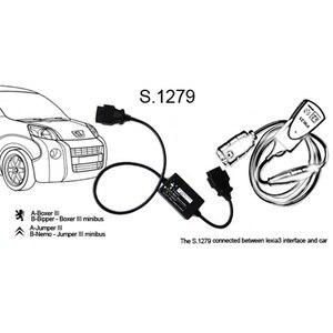 Image 5 - Nuovo connettore diagnostico PP2000 V25 S.1279 dello strumento diagnostico di Diagbox V7.83 Lexia3 Lexia 3 V48 per Citroen per Peugeot