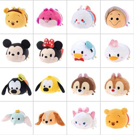 1pcslot 35 TSUM TSUM Mini Minnie Mickey Sebastian Duffy Mermaid