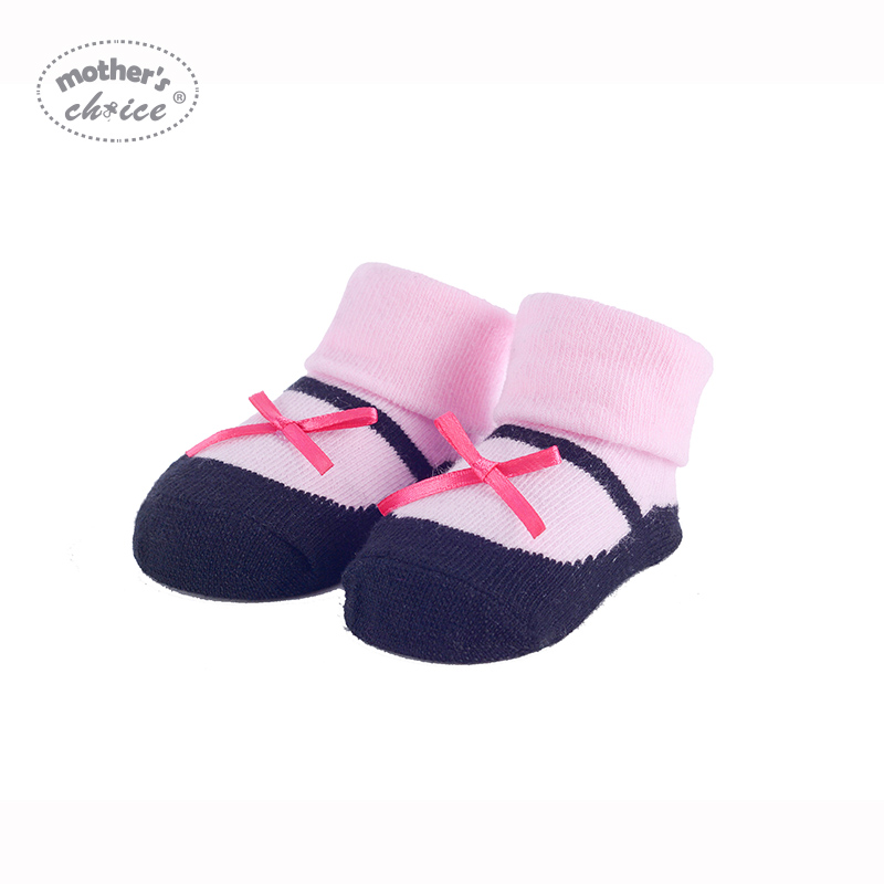 Mother's Choice 4 Stks / partij Babysokjes Katoen Baby Zachte meias - Babykleding - Foto 2
