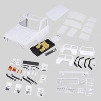 12.3inch/313mm Wheelbase RC Car Body Shell DIY Kit for 1/10 RC Truck Crawler Axial SCX10 & SCX10 II 90046 90047 Model DIY Parts
