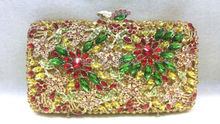 Free shipping !! A15-55,colorful color fashion top crystal stones ring clutches bags for ladies nice party bag