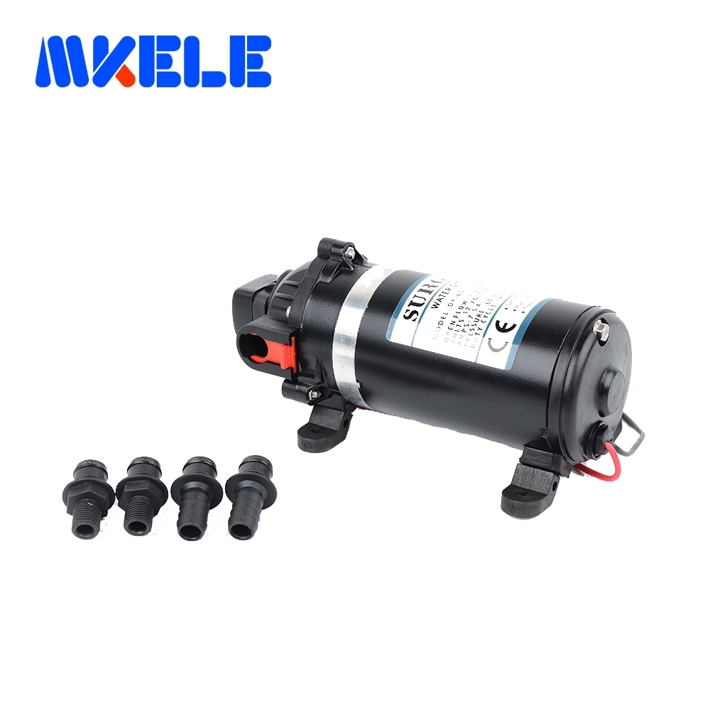 DP-120s ac 220v Water Pump High Pressure Diaphragm Pump 9.5m lift Submersible pumps For Chemical 120psi 6162 63 1015 sa6d170e 6d170 engine water pump for komatsu