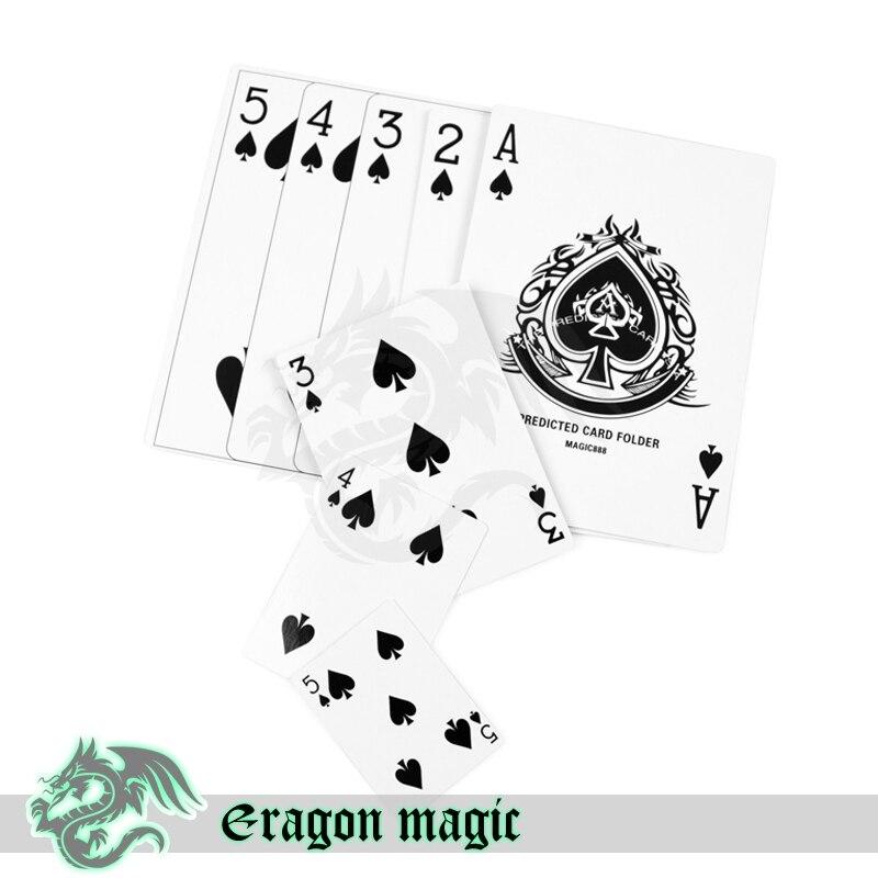 Competencia tamaño magia juego del Póker tarjetas envío gratis truco ...
