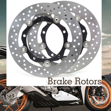 Motorcycle Accessories Front Brake Disc Disks Brake Rotor For YAMAHA T-MAX 530 TMAX530 TMAX 530 2012 2013 2014 2015 Iron kemimoto tmax530 motorcycle accessories cnc mirror hole cap cover driven mirror eliminators for yamaha tmax 530 2012 2013 2015