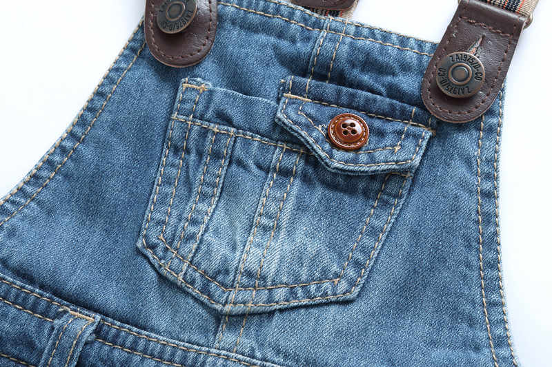Детские комбинезоны джинсовые комбинезоны для маленьких мальчиков и девочек, джинсы Мягкий комбинезон для младенца джинсы для новорожденного комбинезон с открытыми штанами 9 months to 3 years Old