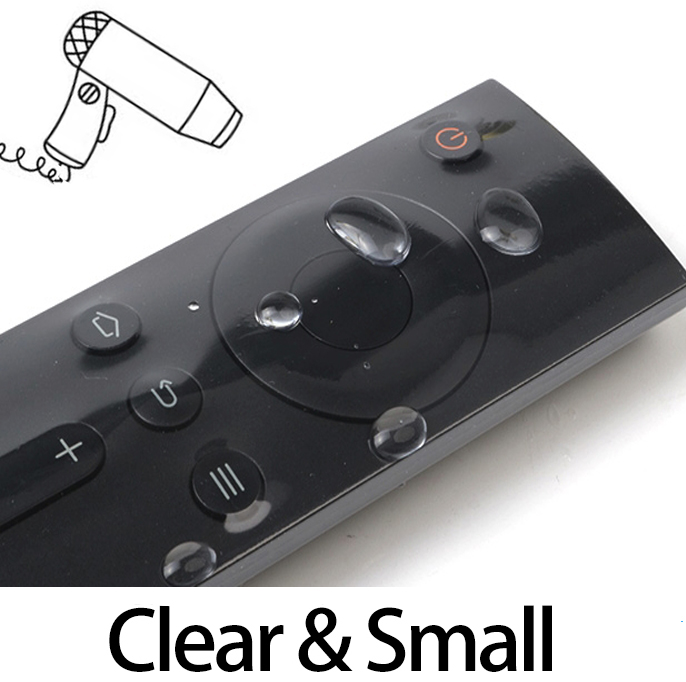 Clear Small Tv Remote Control Covers 10pcs Heat Shrink Film Waterproof Protective Case Anti-dust Bag Top Quality Soft