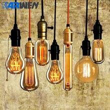 KARWEN, винтажная лампочка эдисона, E27, лампада, Ретро лампа, лампа накаливания 40 Вт, 220 В, светильник Эдисона для украшения подвесных ламп