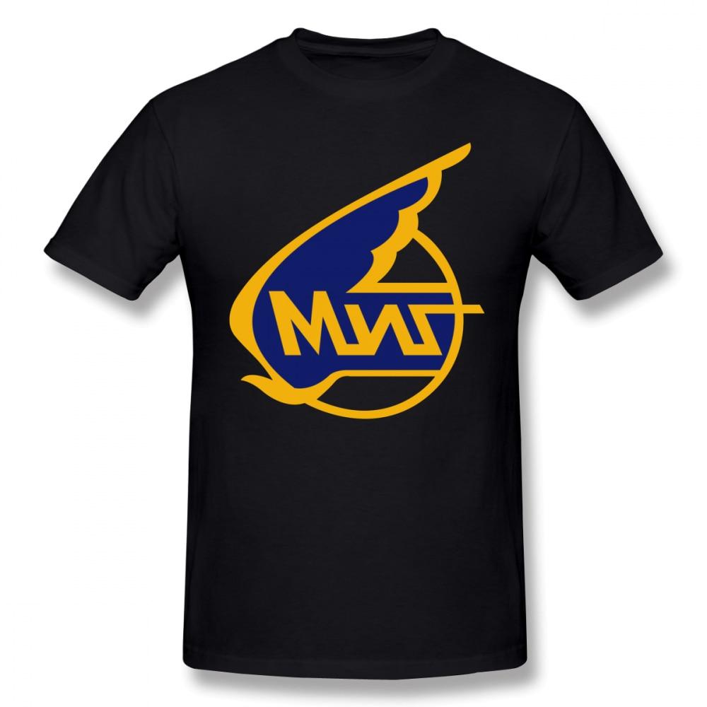 Stalin T Shirt Mikoyan Gurevich Russian Aircraft Corporation MiG Logo T-Shirt Men Funny Tee Shirt Printed 100 Cotton Tshirt