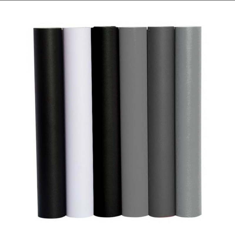 Self adhesive PVC Wallpaper Rolls Modern DIY Waterproof Vinyl Wallpapers for Kitchen Furniture Stickers Home Decor