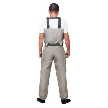 Men\'s Neoprene Stocking Foot Wader Stockingfoot Breathable Fly Fishing Hunting Chest Wader