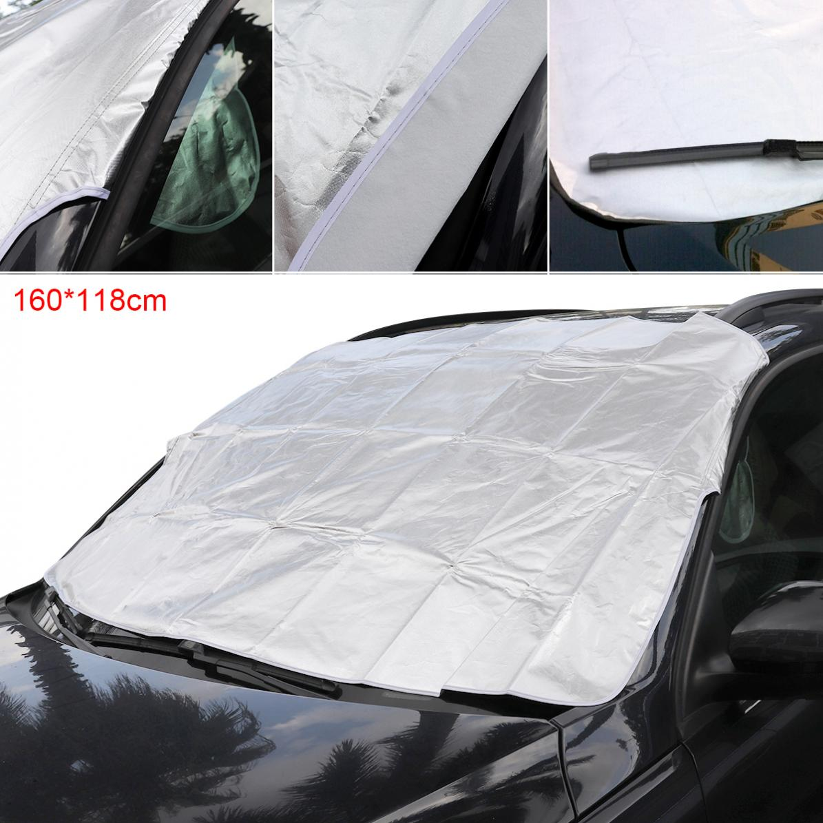WINDSCREEN FROST ICE SNOW COVER PROTECTOR FOR PEUGEOT 508