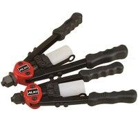 Heavy Duty Hand Riveter Gun Kit Blind Rivet Hand Tool Set Gutter Repair With 50pcs Rivets