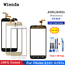 Touch Screen For Uhans A101 A101s Front Glass Lens Mobile