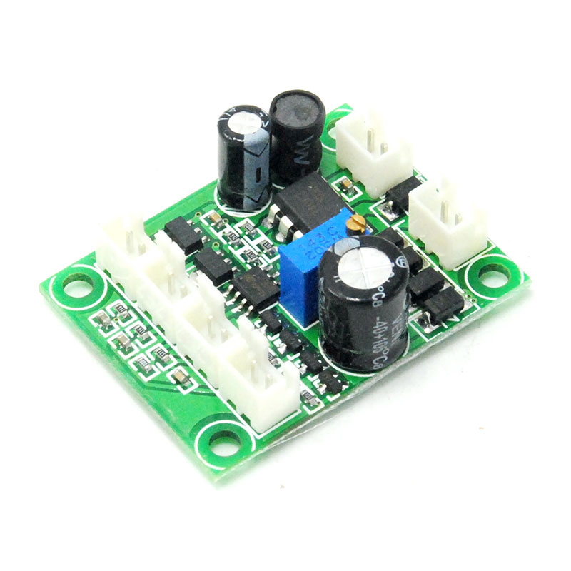 100mW-500mW 2A Circuit Power Driver Board for 532nm 650nm 808nm 980nm Green Red IR Laser Diode