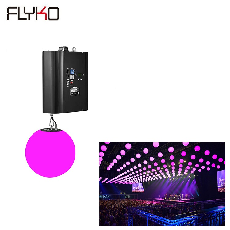 Free shipping wholesales Led Light Color changing DMX Stage Kinetic lighting dmx 512 3d ballFree shipping wholesales Led Light Color changing DMX Stage Kinetic lighting dmx 512 3d ball