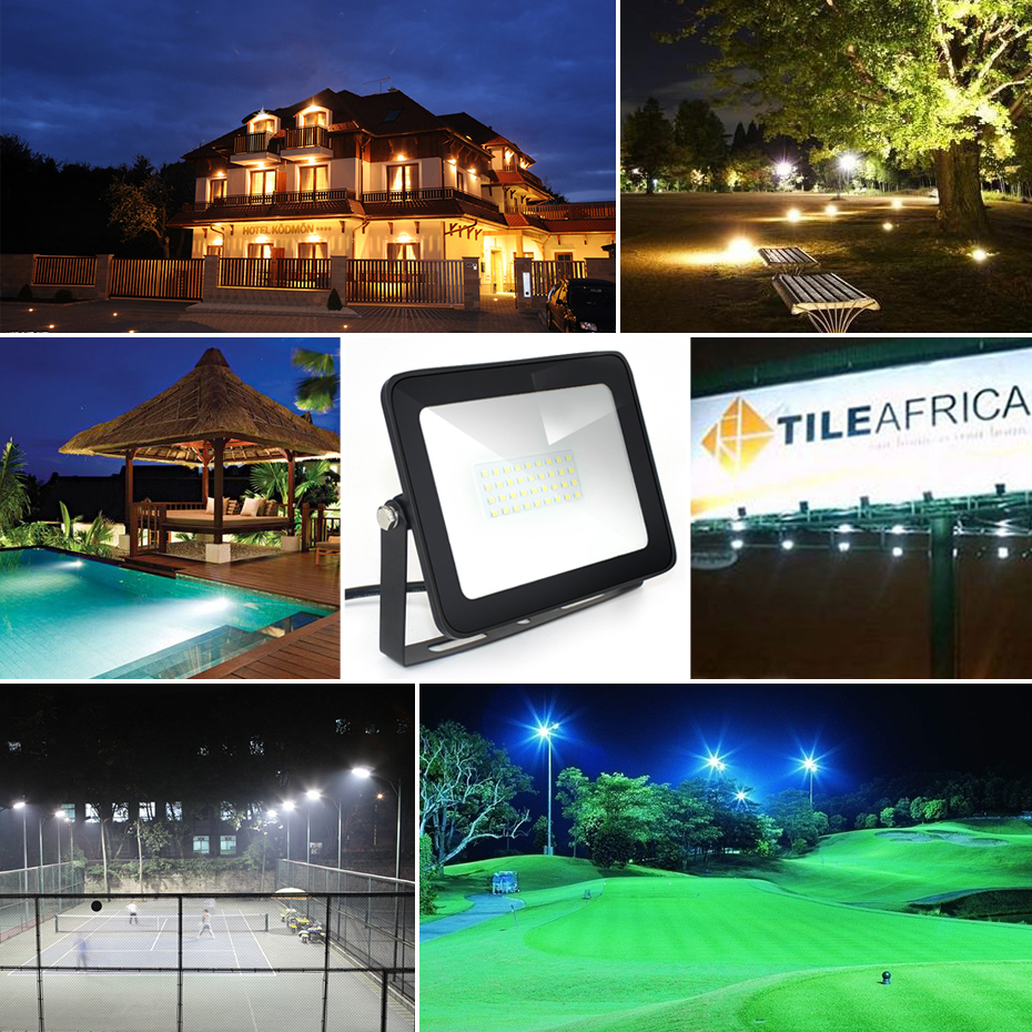 LED Floodlight 150W 100W 50W 30W 10W εξαιρετικά λεπτό - Εξωτερικός φωτισμός - Φωτογραφία 6