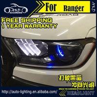 AKD Car Styling Head Lamp For Ford Ranger Headlight 2016 Everest LED Headlight LED DRL H7