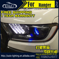 AKD Car Styling Head Lamp For Ford Ranger Headlight 2016 Everest LED Headlight LED DRL H7