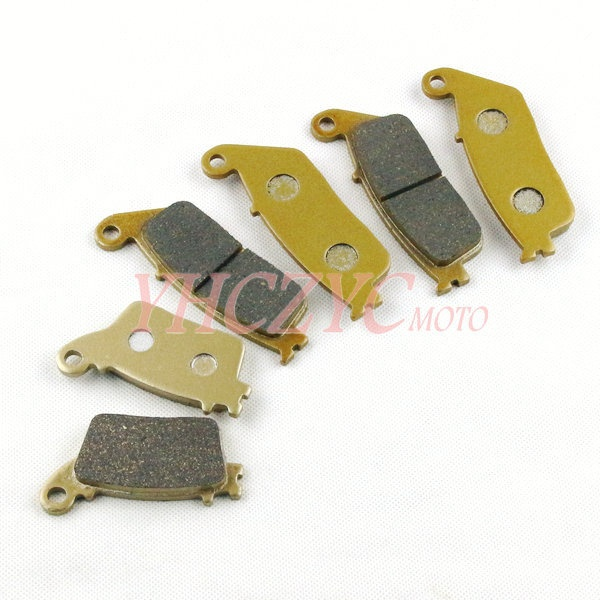 "ФОТО For Honda CB600F ""Hornet"" 2007-2013 (Without ABS) motorcycle front and rear brake pads set"