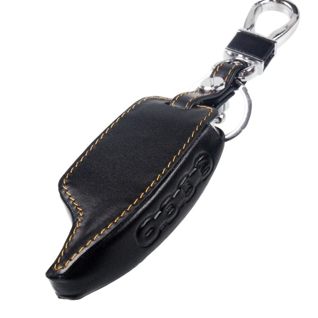 jingyuqin for Scher Khan Magicar 5/6 Leather Case For Scher-khan Magicar M5 M6 LCD Alarm Remote Keychain Cover Protector