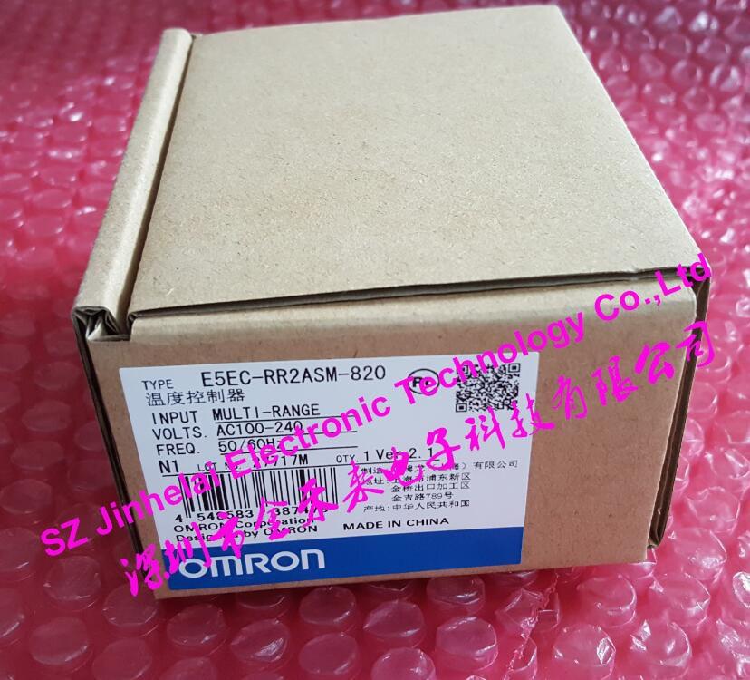 E5EC-RR2ASM-820 New and original OMRON Digital controller AC100-240V (alternative E5EZ-R3T) все цены