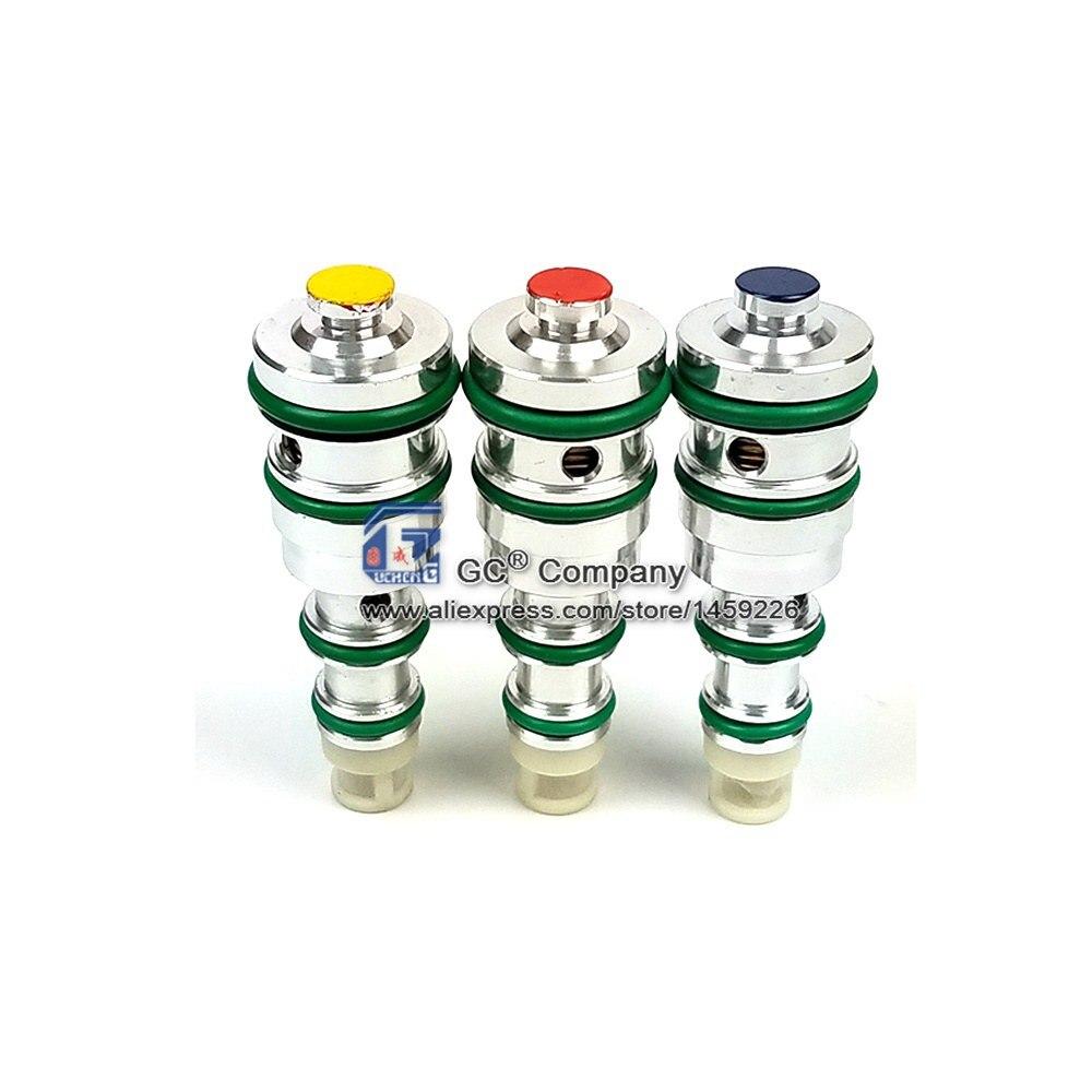 Électromagnétique V5 Compresseur Soupape De Commande 40/42/44 Psi Jaune/Bleu/Rouge pour Lacetti Buick Volkswagen Opel DAEWOO