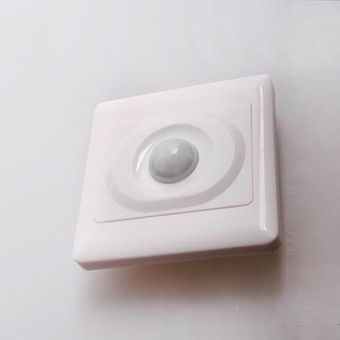 Fixmee 110V-250V Automatic Infrared PIR Motion Sensor Switch for Home Office LED Light infrared pir motion sensor switch for led light strip automatic dc 5v 30v 10a h028