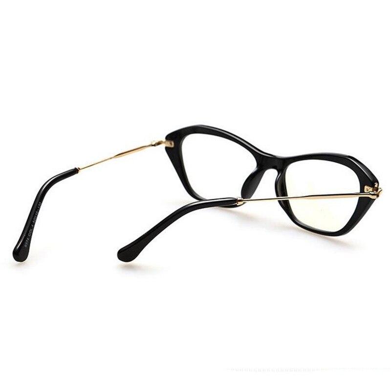 79910f0d04 2018 Cat Eye Optical Glasses Frame Women Vintage Glasses Frames Leopard  Style Woman Fashion Eyeglasses Frame Oculos De Grau YJ92-in Eyewear Frames  from ...