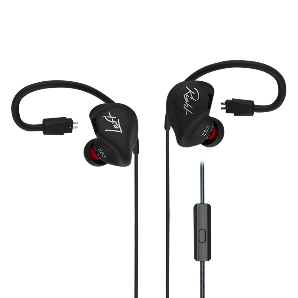 Original KZ ZS3 Hifi Earphone With Without Mic Metal Heavy Bass Sound Quality For Music Handsfree Phone Calls For Mobile Phone kz zs3 hifi earphone headset headphones metal heavy bass sound with without mic for android ios smartphone xiaomi iphone oppo pc