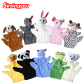 Simingyou 2017 Hot Cute Big Size Animal  Hand Puppet  Dolls Plush Baby Child Zoo Animal Hand Glove Puppet Finger Sack Plush Toy