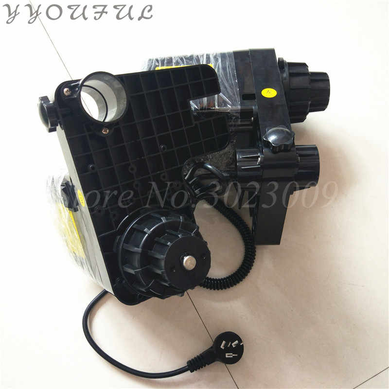 Kuat Format Besar Plotter Roland Mimaki Mutoh Allwin Xuli Twinjet Roller Mengambil Sistem Motor Ganda untuk Epson DX5 DX7 kepala
