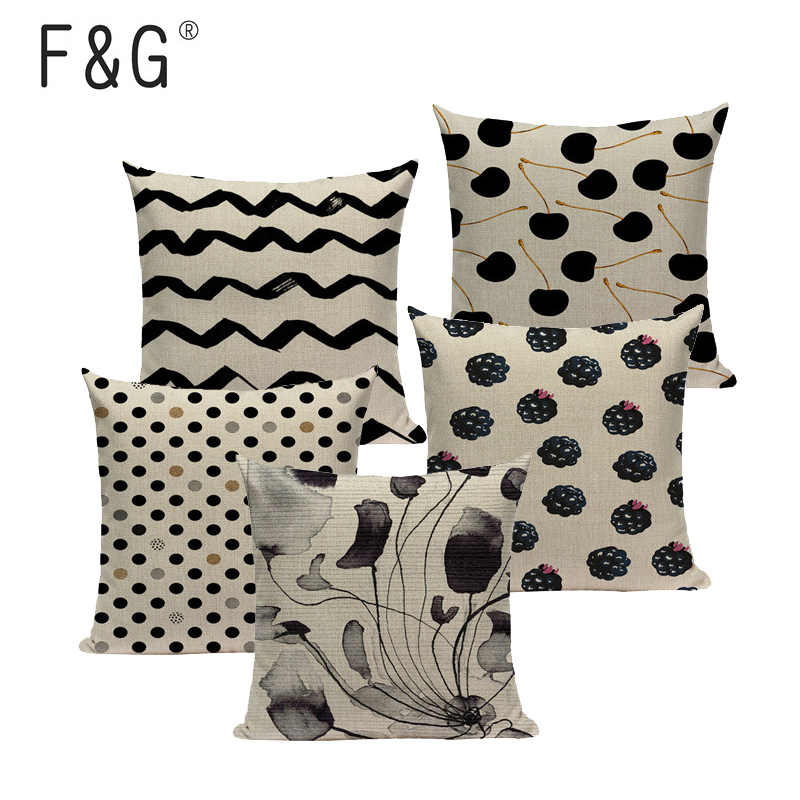 Outstanding Black And White Stripes Chevron Ink Cushion Cover Car Sofa Chair Home Decor Linen Pillow Cover Throw Pillows Pillowcase Custom Gmtry Best Dining Table And Chair Ideas Images Gmtryco
