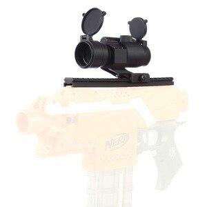 Image 5 - 戦術 M2 ホログラフィック視力ライフルスコープ 1X30 レッド & グリーンドット狩猟照準光学スコープコリメートライフルスコープ狩猟用