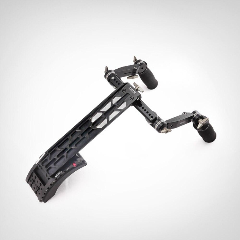 TiltaTT-0506 15mm/19mm ombro sistema de montagem com frente handgrip punho kit para Scarlet/RED ONE MX /AlEXA MINI câmera rig