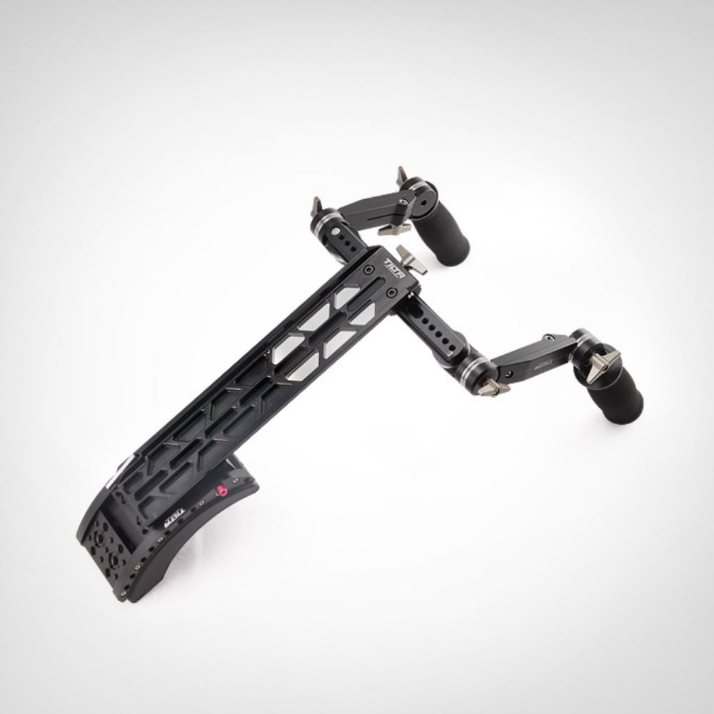 TiltaTT-0506 15mm/19mm supporto della spalla con la parte anteriore impugnatura maniglia kit per Scarlet/RED ONE MX /AlEXA MINI macchina fotografica rig