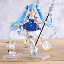 Vocaloid Neve Miku Hatsune Miku Figma EX-054 Neve Princesa Ver. PVC Action Figure Collectible Modelo Toy(China)