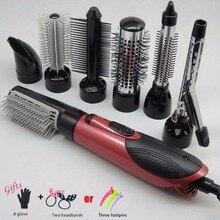 Pro 7 часть Сменные щипцы для завивки волос машины Керамика для завивки волос Multi-Размер ролика термостойкие укладки комплект A06