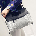 2016 Hot Sale Women's Snake Leather Handbags Famous Brands Female Shoulder Bag High Quality Women Grey Leather Top Handle Bag