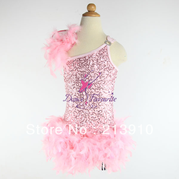 New Arrival! Girl Performance Ballet tutu sequin top, child dance tutu, stage costumes, jazz costumes