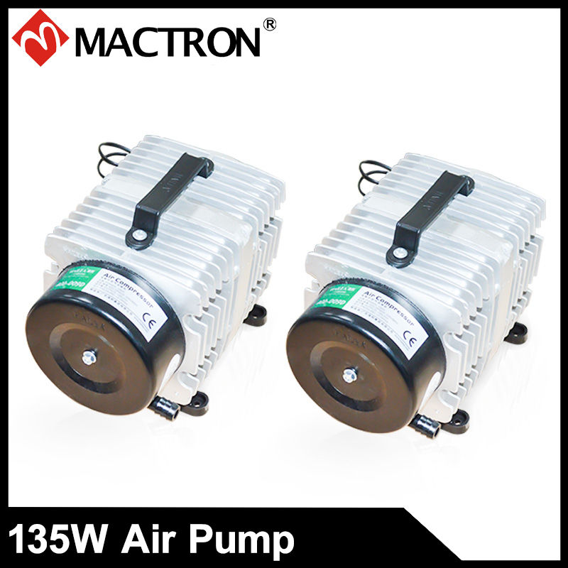 135W Air Compressor/ Pump For CO2 Laser Cutting And Engraving Machine AC110V