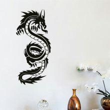 Chinese Dragon Wall Mural  Home Decoration Vinyl Art Removable Sticker Animal Decals AY1891