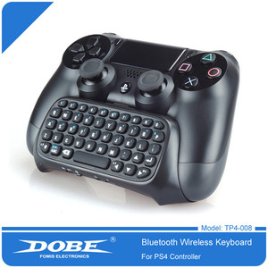 Image 4 - DOBE PS4 Mini Wireless Bluetooth Keyboard PS4 Handle Keyboard For Sony PlayStation PS 4