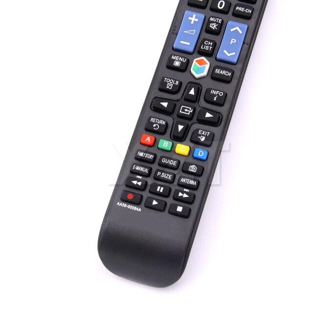 Universal TV Remote Control AA59-00594A AA59-00581A AA59-00582A UE43NU7400U UE32M5500AU UE40F8000 for SAMSUNG LCD LED Smart TV 2