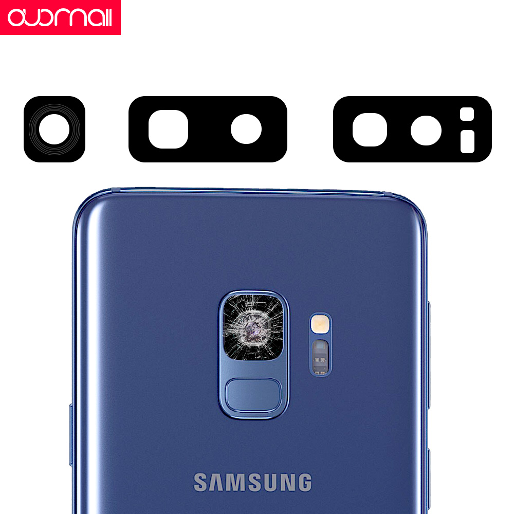 Back Camera glass for Samsung Galaxy S9 S8 S9 S8 plus Note9 8 Camera glass frame HD glass External protection glass Repair parts in Phone Accessory Bundles Sets from Cellphones Telecommunications