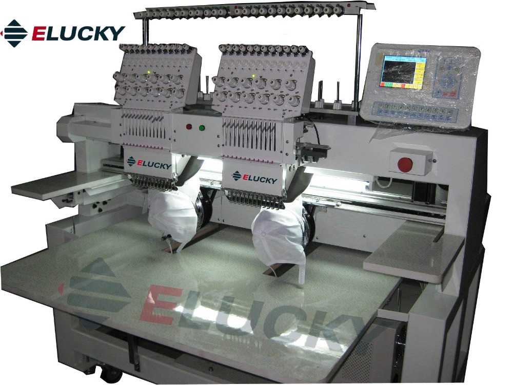 dfae6b0d5b4 Multi head Computerized Embroidery Machine with good price for Cap   Flat  Embroidery-in Embroidery Machines from Home   Garden on Aliexpress.com