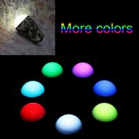 Portable Camouflage Shell Colorful Light LED USB Rechargeable Ultra Outdoor Camping Lamp Hiking Tent Campsite Hanging