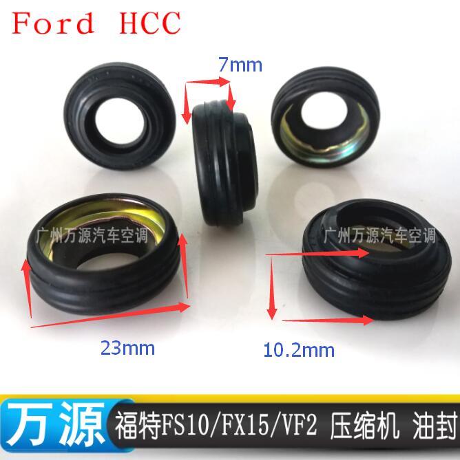 SEF102 AC A//C Compressor Shaft Seal Lip Seal fits Ford FS10 FX15 MT2035 100UNT